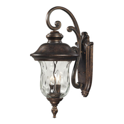 Lafayette 3-Light Outdoor Wall Sconce In Regal Bronze
