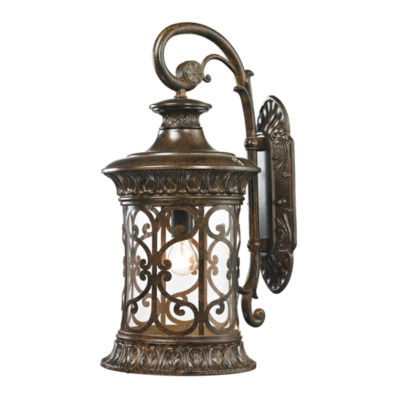 Orlean 1-Light Outdoor Sconce In Hazelnut Bronze