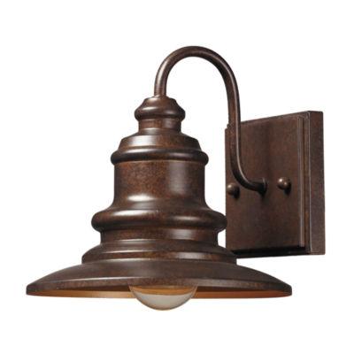 Marina 1-Light Outdoor Sconce In Hazelnut Bronze