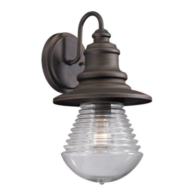 Westport 1-Light Outdoor Sconce In Weathered Charcoal