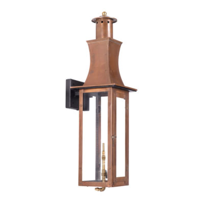 Maryville Outdoor Gas Wall Lantern Aged Copper