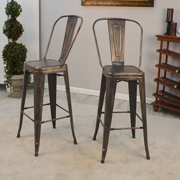 Aryan Set of 2 Bar Stools