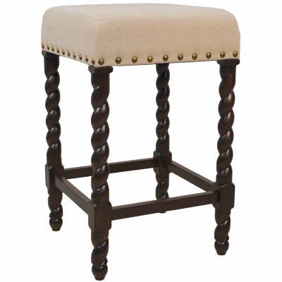 Haele Upholstered Counter Stool