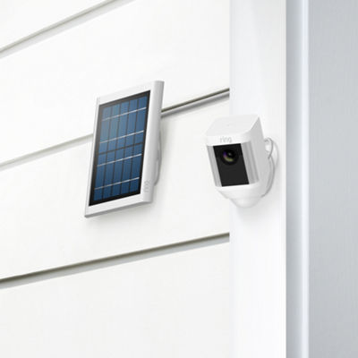 Spotlight Solar Panel - White