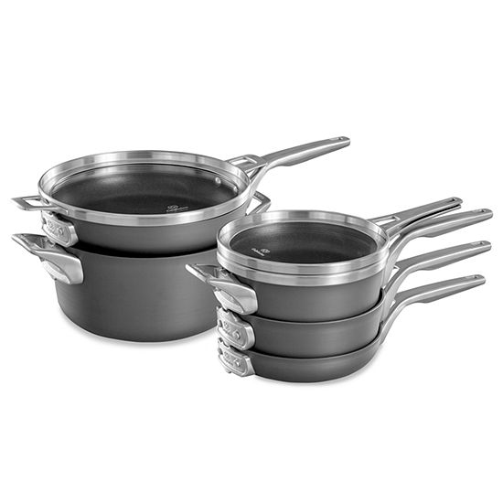 Calphalon Premier 8-pc. Aluminum Dishwasher Safe Cookware Set