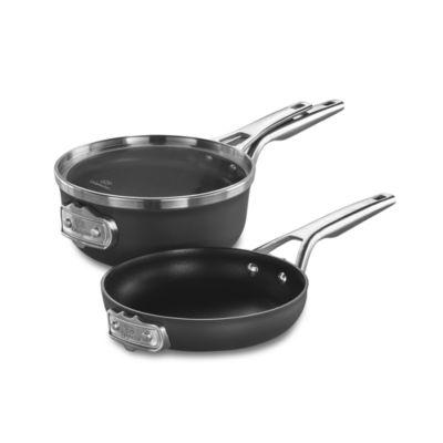 Calphalon Premier 3-pc. Aluminum Dishwasher Safe Cookware Set