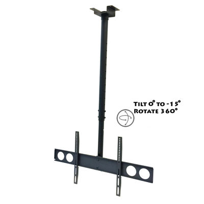 Mega Mounts Heavy Duty Tilting Ceiling Television Mount