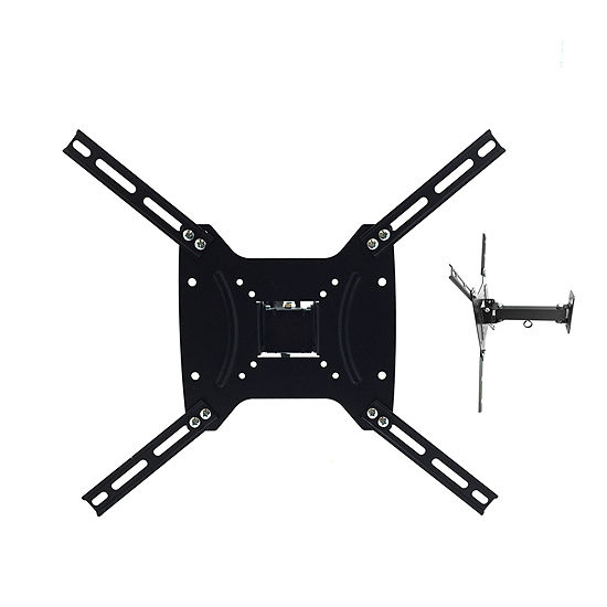 "MegaMounts Versatile Full Motion Television Mount for 17""- 55"" LCD, LED and Plasma Screens with Tilt and Swivel Motion"