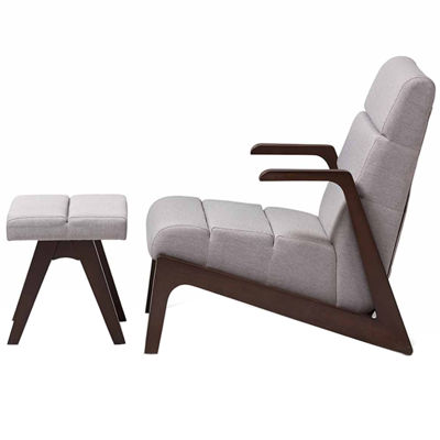 Baxton Studio Vino 2-pc. Seating Set