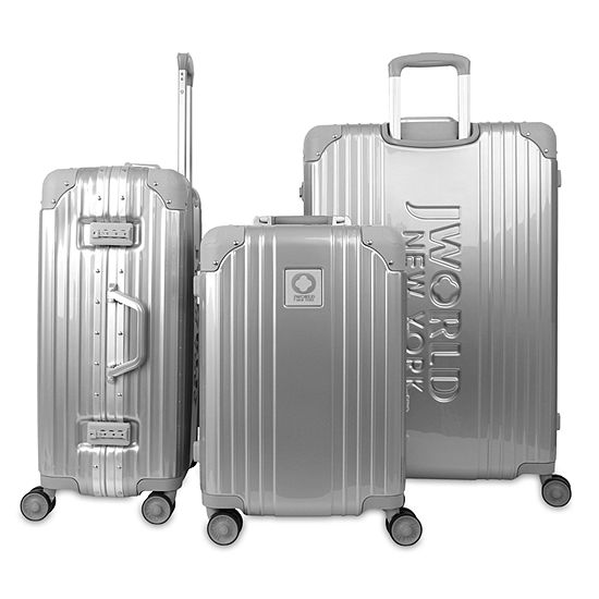 J World Nova 3-pc. Hardside Lightweight Luggage Set