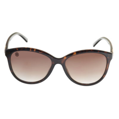 Nicole By Nicole Miller Full Frame Round Sunglasses-Womens