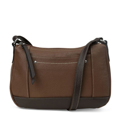 Mundi Rio Leather Hobo Bag
