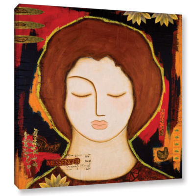 Brushstone Peace Messenger Gallery Wrapped CanvasWall Art
