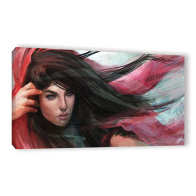 Brushstone Wind Gallery Wrapped Canvas Wall Art