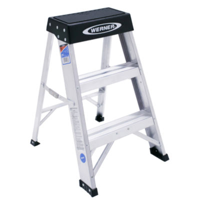 Werner 150B 2 Step Aluminum Step Stool