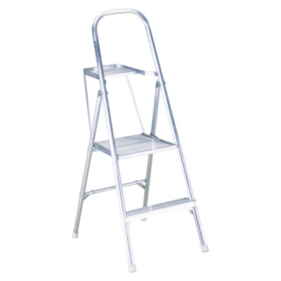 Werner 264 4.5' Aluminum Project Step Ladder