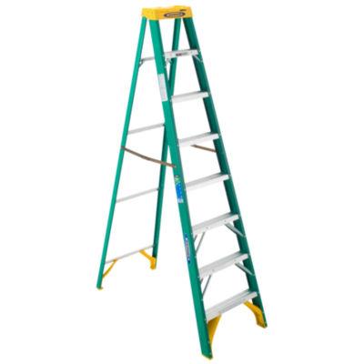 Werner 5908 8' Fiberglass Step Ladder