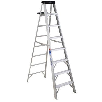 Werner 378 8' Aluminum Step Ladder