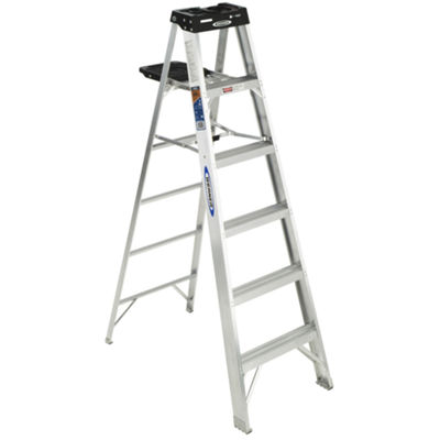 Werner 376 6' Aluminum Step Ladder