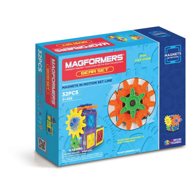 Magformers Magnets in Motion 32 PC. Gear Set