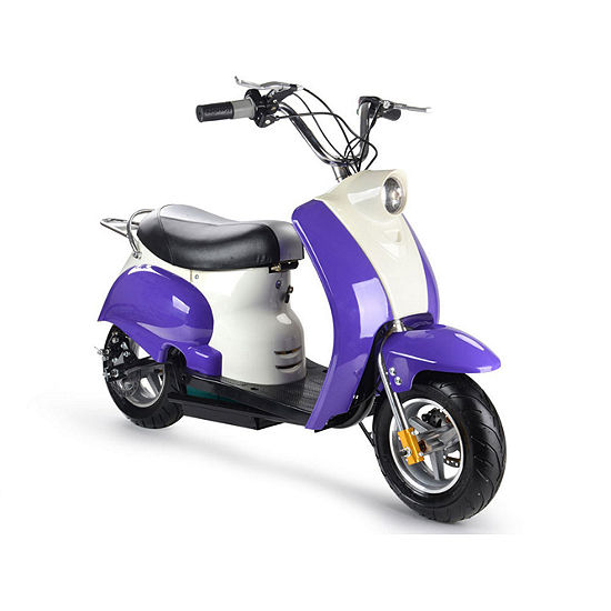 Motottec 24v Kids Electric Powered Moped Scooter