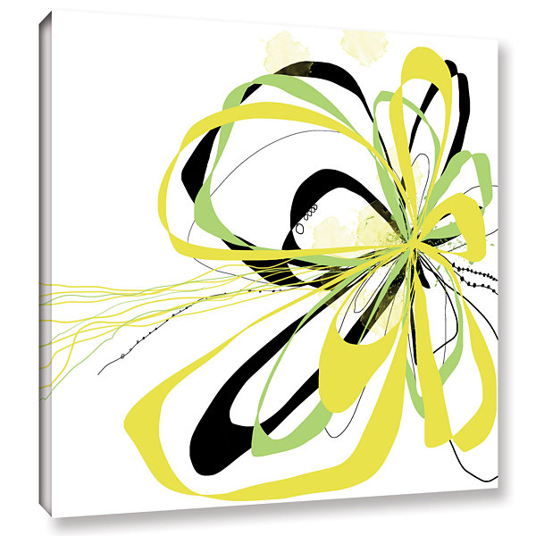 Brushstone Citrus Knot Gallery Wrapped Canvas WallArt