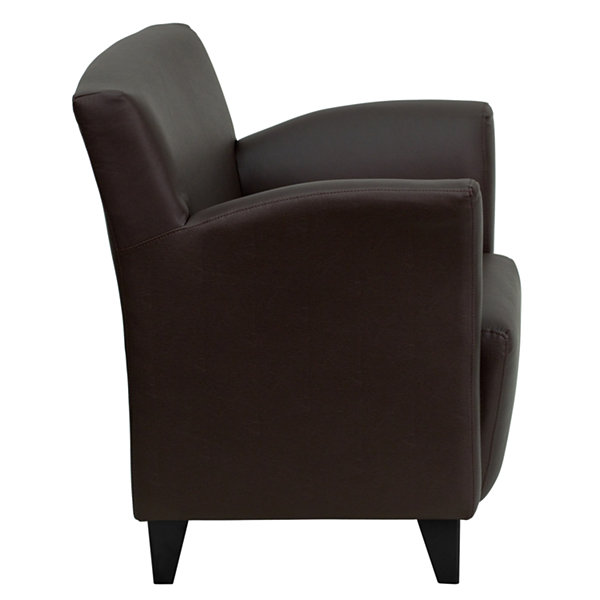 HERCULES Roman Series Leather Lounge Chair