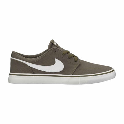 Nike Portmore Ii Slr Cnvs Mens Skate Shoes Lace-up
