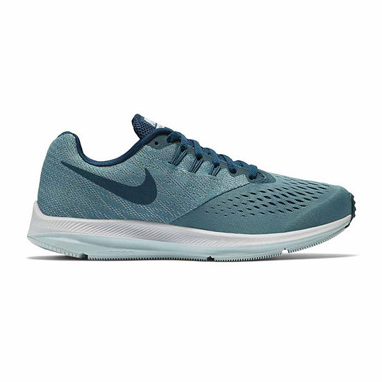 d3f7956d3ec Nike Zoom Winflo 4 Womens Lace-up Running Shoes - JCPenney