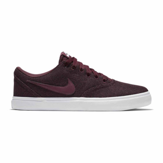 Nike Check Solar Canvas Womens Skate Shoes Lace-up