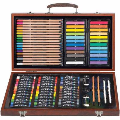 Art 101  Drawing, Sketching & doodling Wood Art Set - 111 Piece