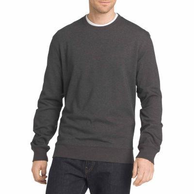 Van Heusen Flex Fleece Crewneck Long Sleeve Sweatshirt Big and Tall