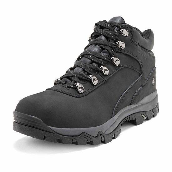 Northside Mens Apex Mid Hiking Boots Flat Heel