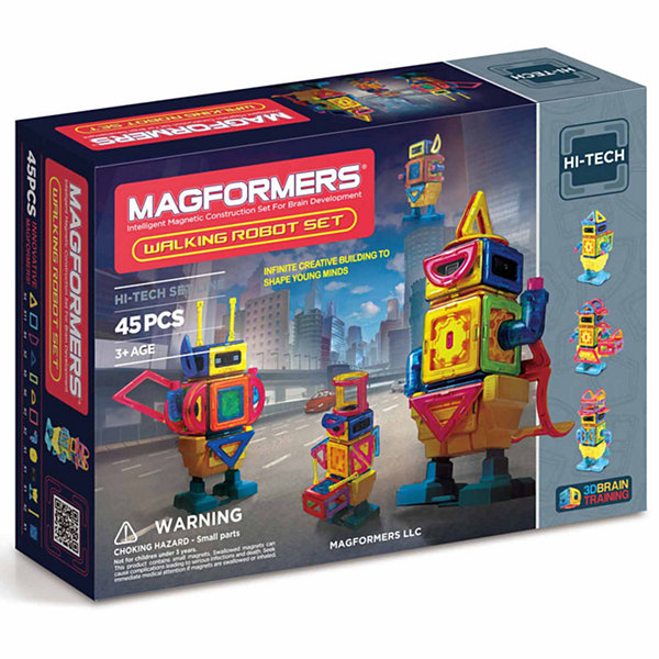 Magformers Walking Robot Set 45 PC