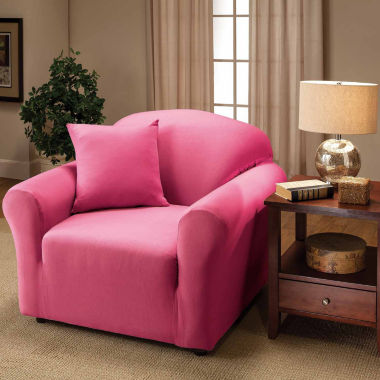 Stretch Jersey Slipcover Chair