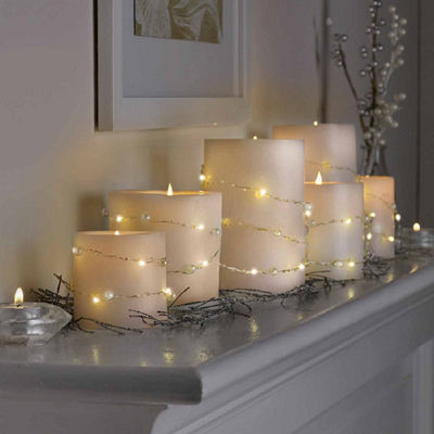 STRING LIGHTS LED MICRO PEARLS