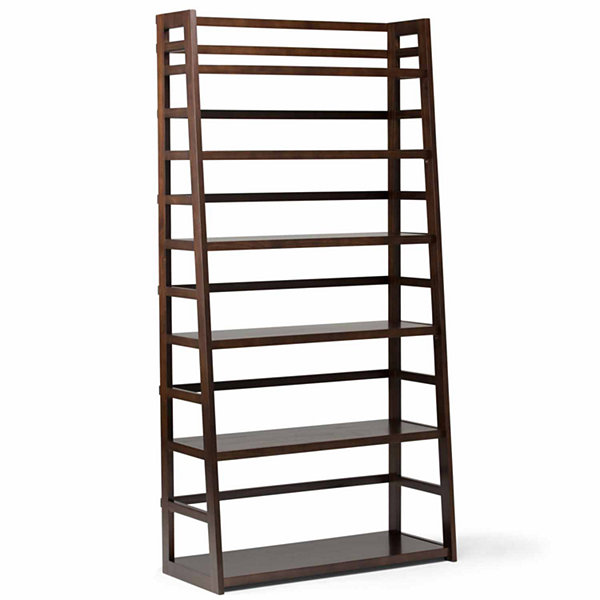 Acadian Wide Ladder Shelf Bookcase