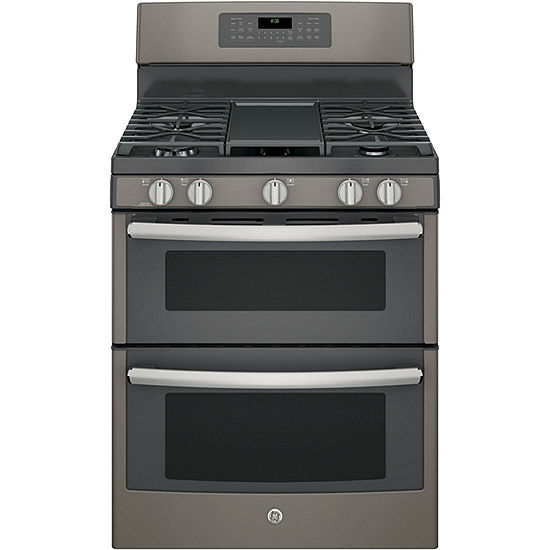 ge 30 free standing double oven gas range with convection jcpenney