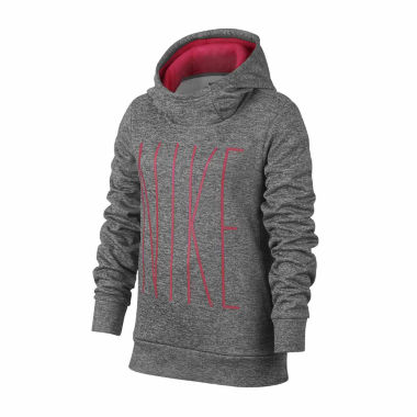 Nike Therma Fleece Hoodie - Girls' 7-16
