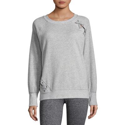 Xersion Studio Lace Up Sweatshirt