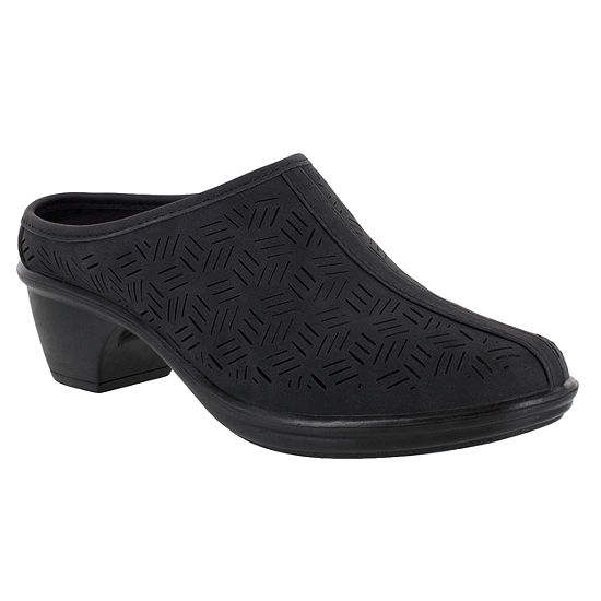 Easy Street Womens Caitlyn Mules Round Toe