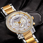 Akribos XXIV Mens Two Tone Bracelet Watch-A-900ttg