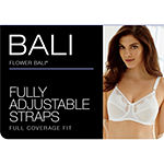 Bali Flower Bali Comfort-U Underwire Unlined Full Coverage Bra-0180