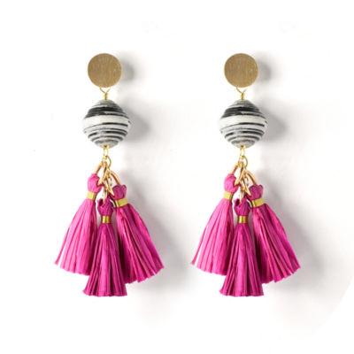 One Bead One Hope By Akola Project Drop Earrings