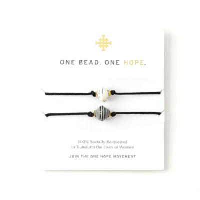 One Bead One Hope By Akola Project Womens 2-pc. Bracelet Set