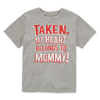 City Streets Valentine's day Graphic T-Shirt-Toddler Boys
