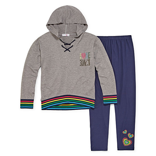 Knit Works Rainbow Legging Set - Girls' 4-16 & Plus
