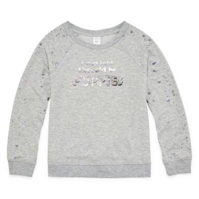 Arizona Graphic Foil Sweatshirt - Girls 4-16