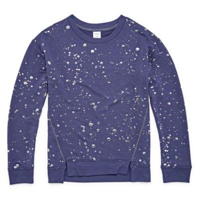 Arizona Foil Print Sweatshirt - Girls 4-16
