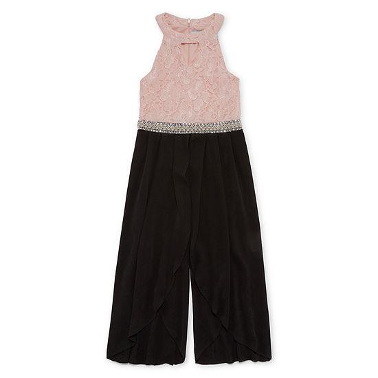 Knit Works Girls Sleeveless Jumper - Big Kid